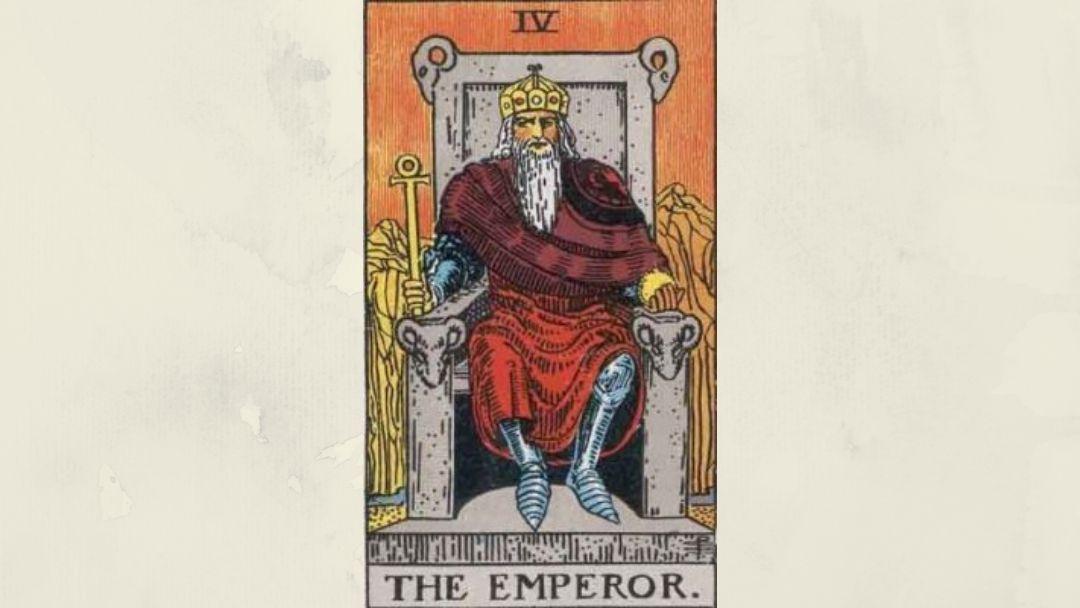 4 The Emperor – Rider-Waite