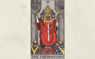 5 The Hierophant – Rider-Waite