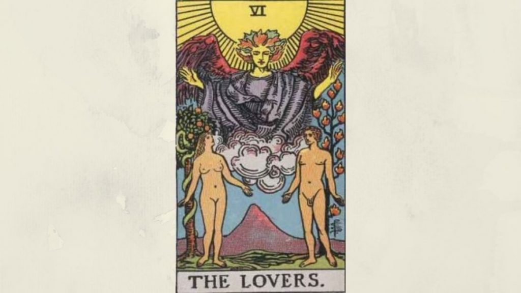 6 The Lovers - Rider-Waite Major Arcana