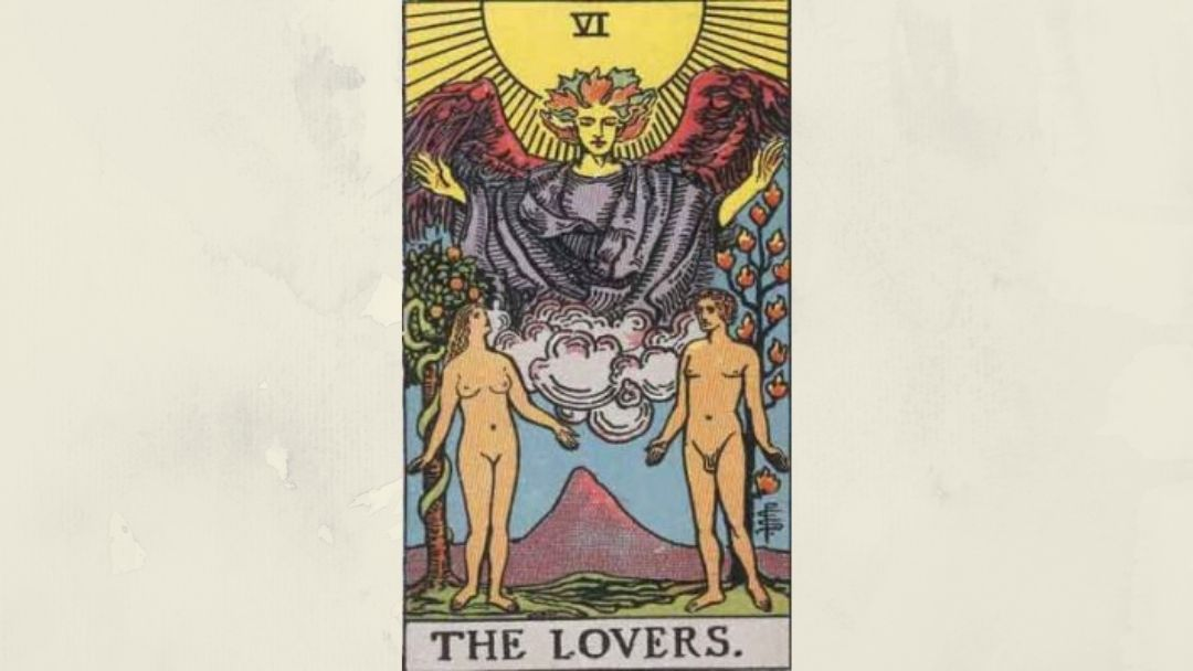 6 The Lovers – Rider-Waite