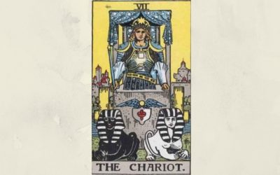 7 The Chariot – Rider-Waite