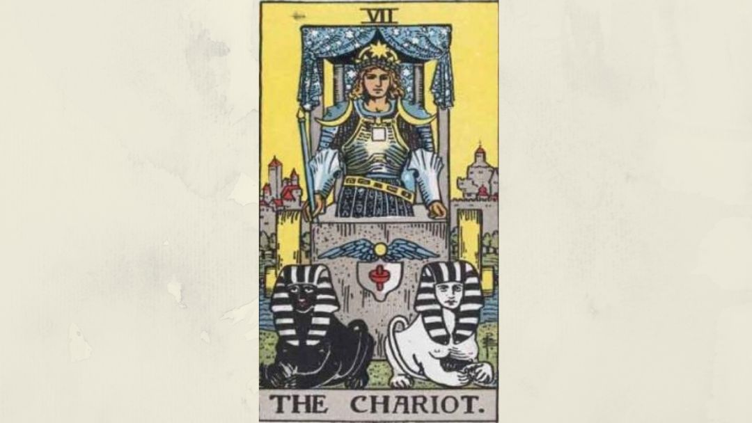 7 The Chariot - Rider-Waite Major Arcana