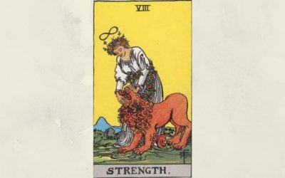 8 Strength – Rider-Waite