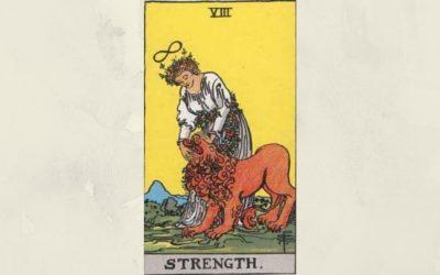 8 Strength – Rider-Waite