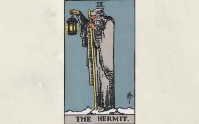 9 The Hermit – Rider-Waite