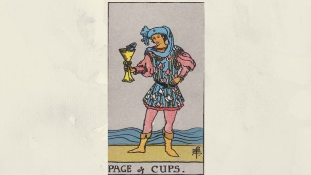 Page of Cups - Rider-Waite Court Card