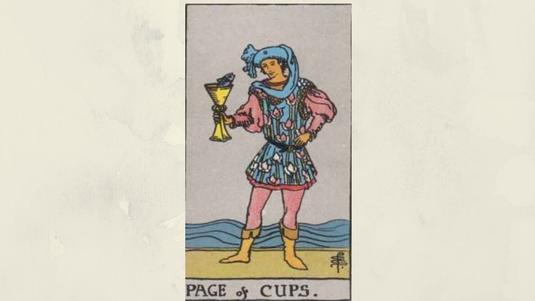 Page of Cups – Rider-Waite