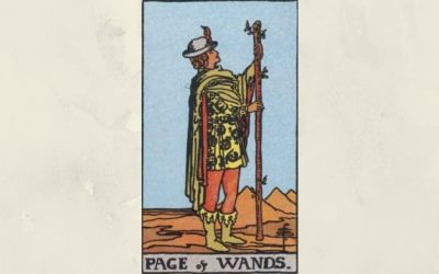 Page of Wands – Rider-Waite