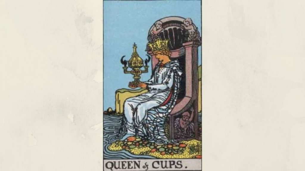 Queen of Cups - Rider-Waite Court Card