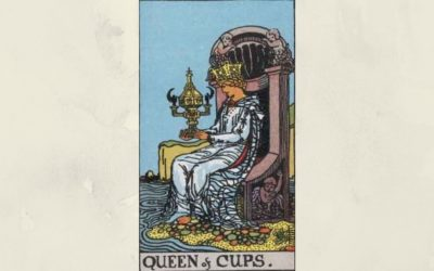 Queen of Cups – Rider-Waite