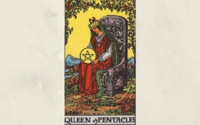 Queen of Pentacles – Rider-Waite