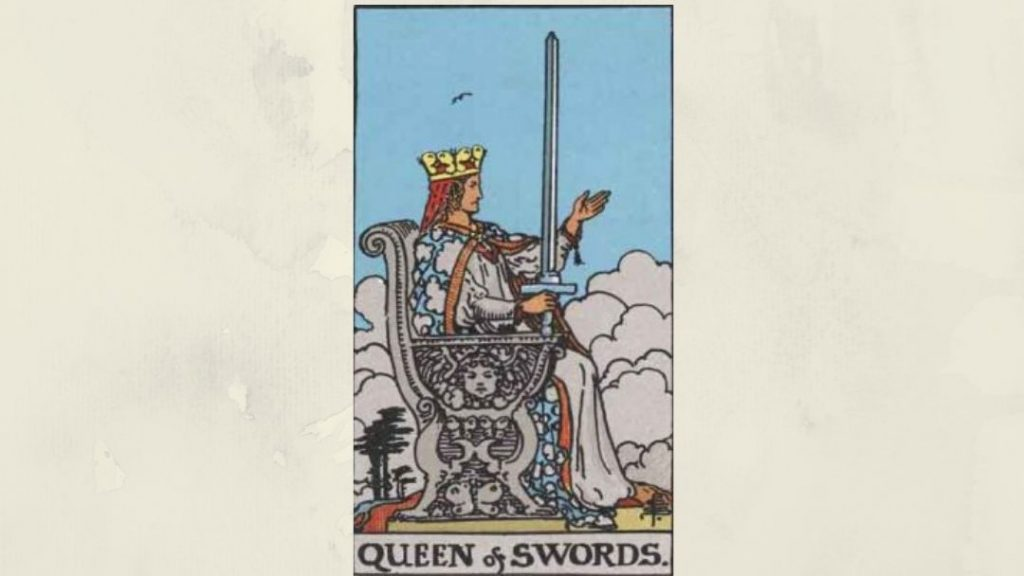 Queen of Swords- Rider-Waite Court Card