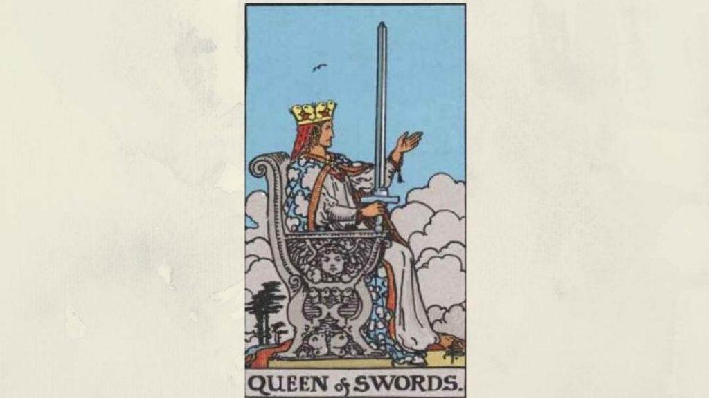 Queen of Swords- Rider-Waite Court Card