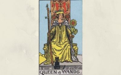 Queen of Wands – Rider-Waite