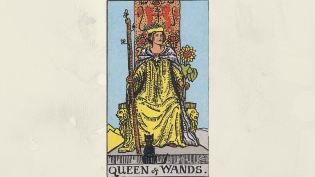 Queen of Wands - Rider-Waite Court Card