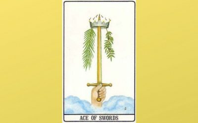 Ace of Swords – Golden Dawn