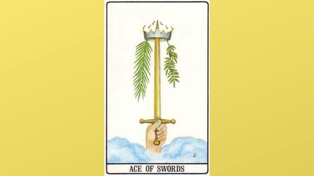 Ace of Swords – Golden Dawn