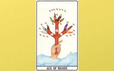 Ace of Wands – Golden Dawn