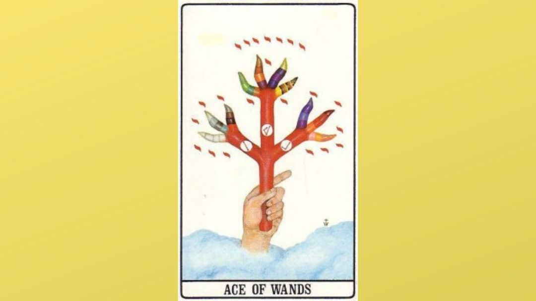 Ace of Wands - Golden Dawn Minor Arcana