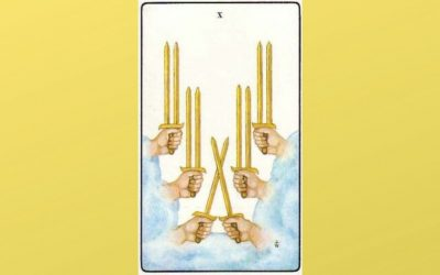Lord of Ruin – 10 of Swords – Golden Dawn