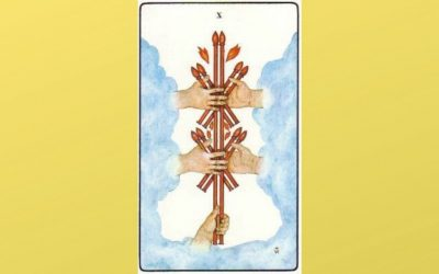 Lord of Oppression – 10 of Wands – Golden Dawn