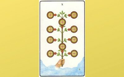Lord of Wealth – 10 of Pentacles – Golden Dawn