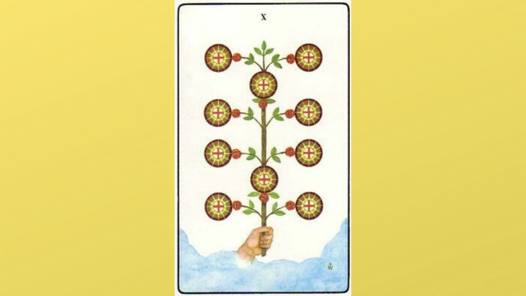 10 of Pentacles - Golden Dawn Minor Arcana