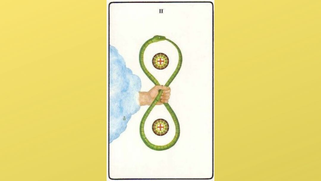 Lord of Change – 2 of Pentacles – Golden Dawn
