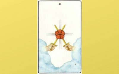 Lord of Peace Restored – 2 of Swords – Golden Dawn