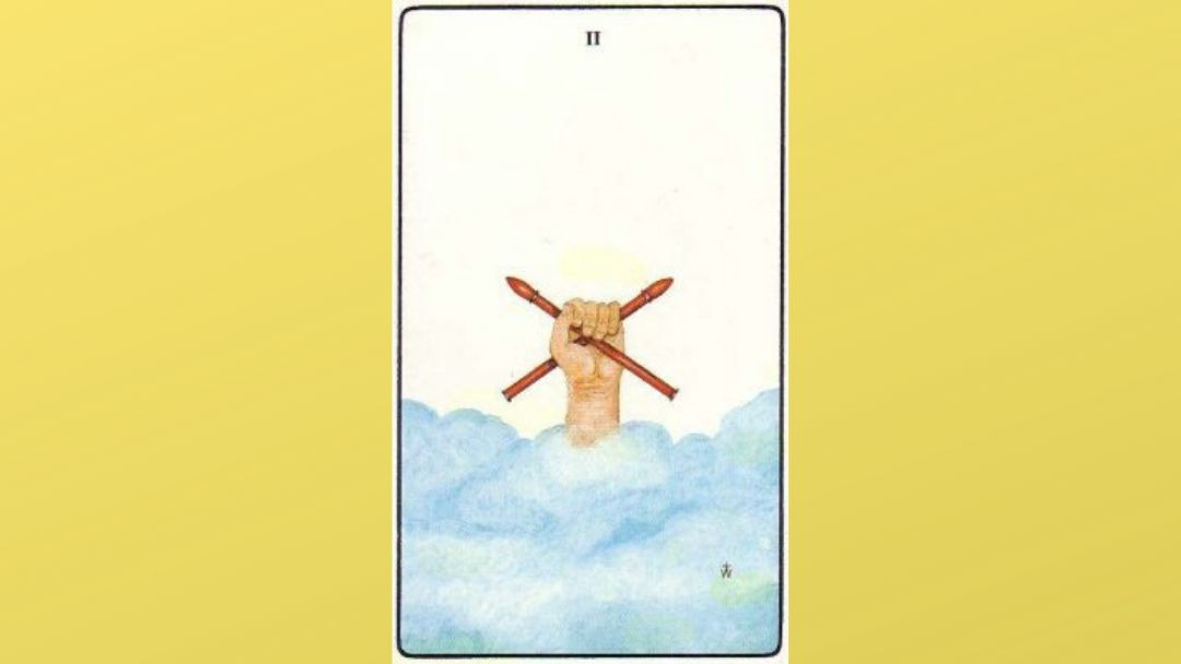 Lord of Dominion – 2 of Wands – Golden Dawn