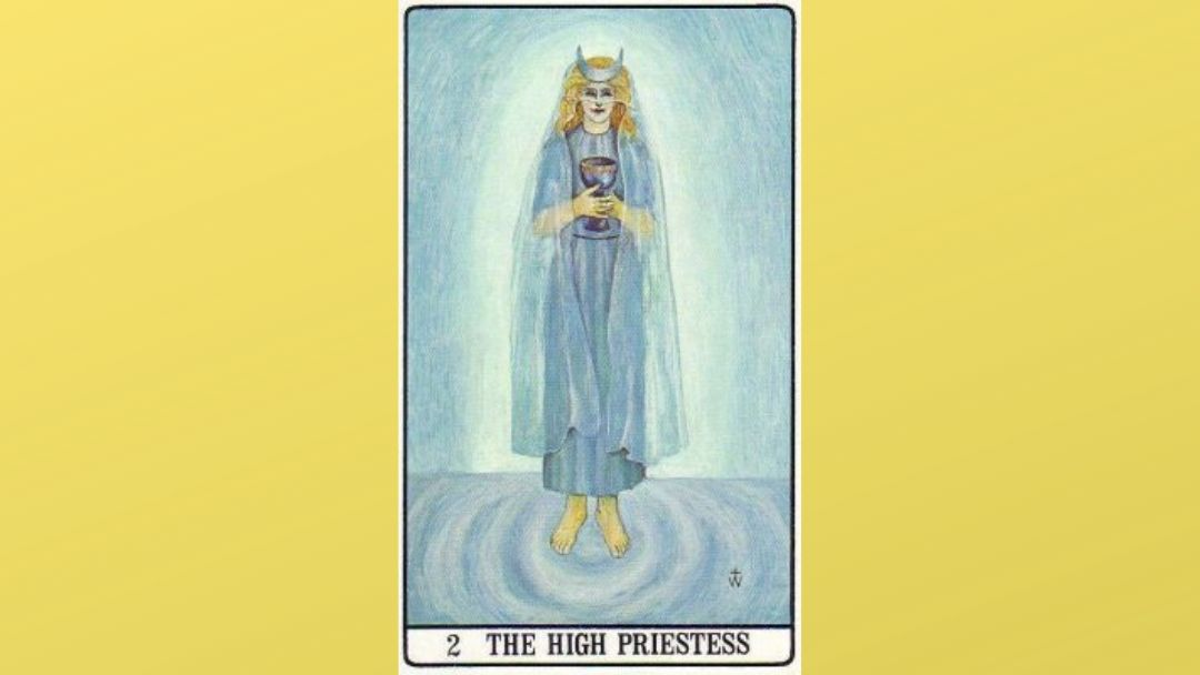2 The High Priestess – Golden Dawn