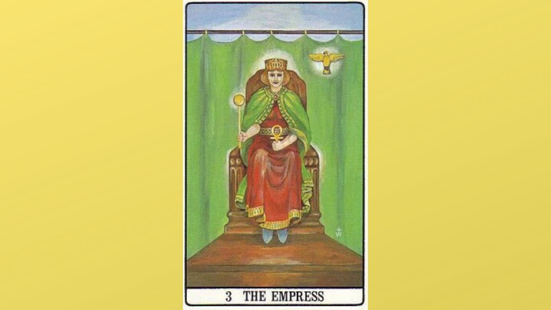 3 The Empress - Golden Dawn Major Arcana