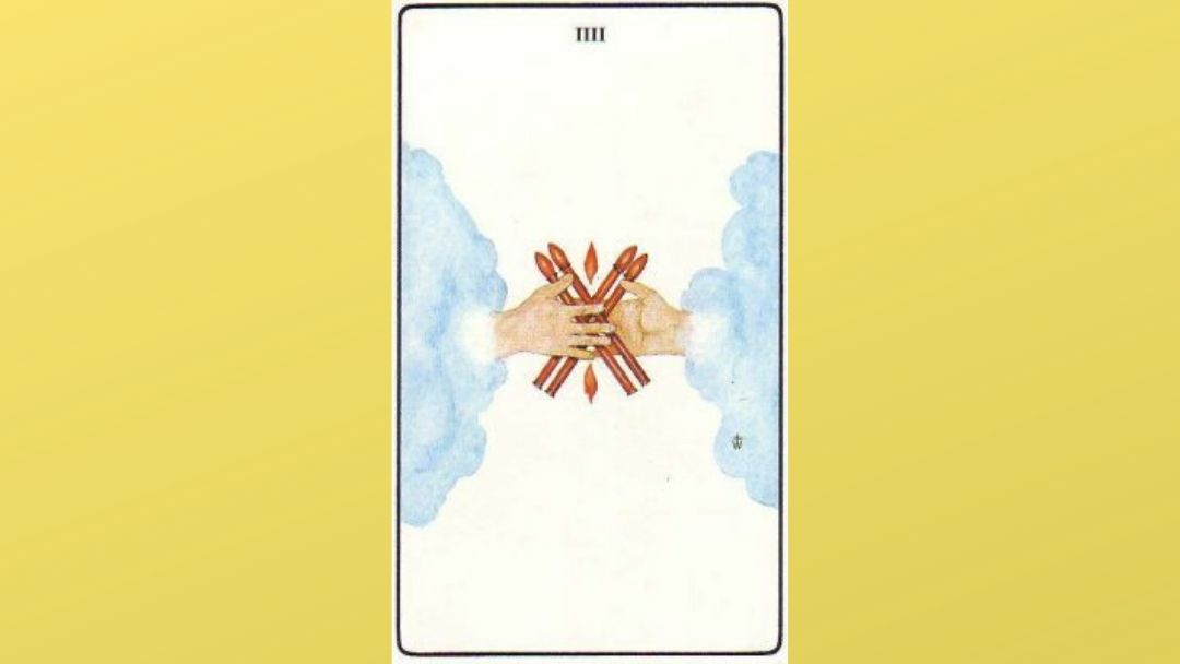 Lord of Perfected Work – 4 of Wands – Golden Dawn