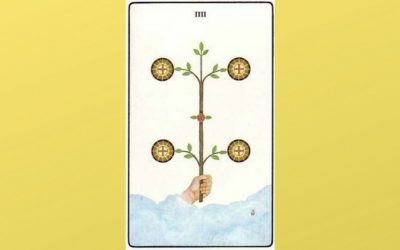 Lord of Earthly Power – 4 of Pentacles – Golden Dawn