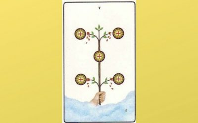 Lord of Material Trouble: 5 of Pentacles – Golden Dawn