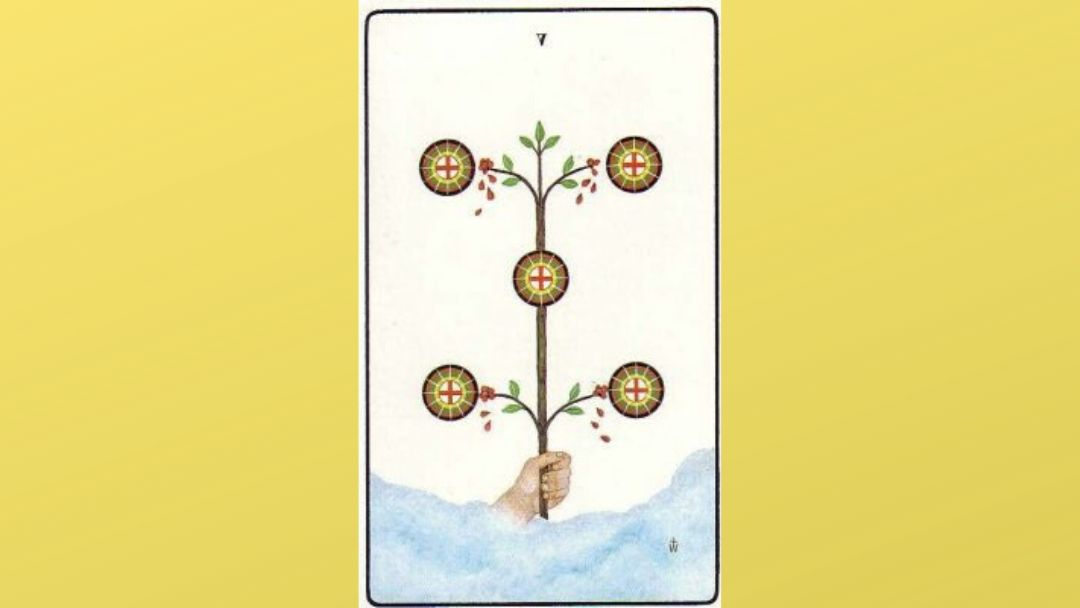 5 of Pentacles - Golden Dawn Minor Arcana