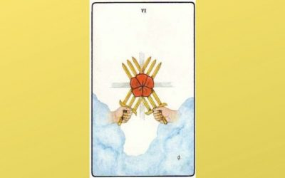 Lord of Earned Success – 6 of Swords – Golden Dawn