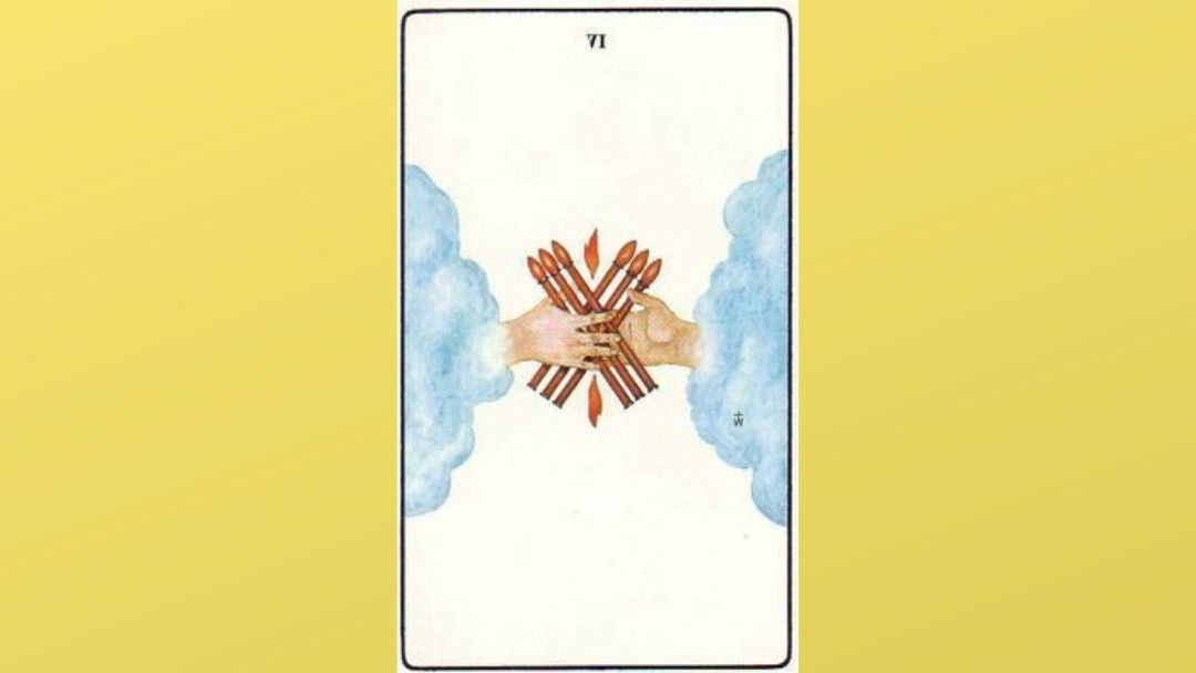 Lord of Victory – 6 of Wands – Golden Dawn
