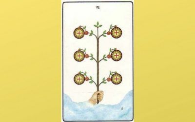 Lord of Material Success – 6 of Pentacles – Golden Dawn
