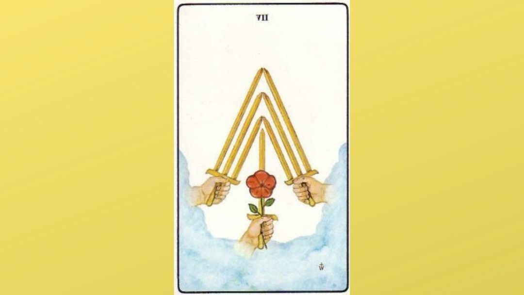 Lord of Futility – 7 of Swords – Golden Dawn