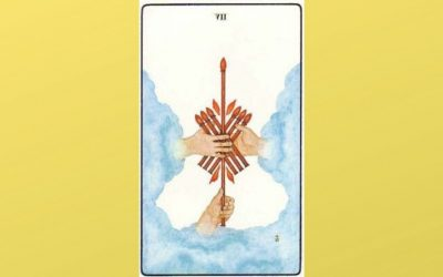 Lord of Valour – 7 of Wands – Golden Dawn