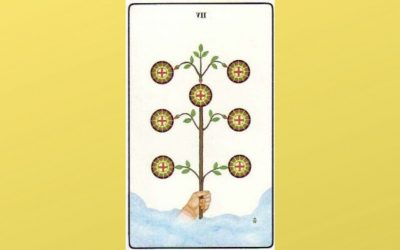 Lord of Success Unfulfilled – 7 of Pentacles – Golden Dawn