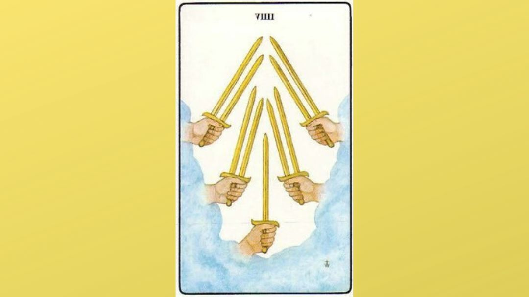 9 of Swords - Golden Dawn Minor Arcana