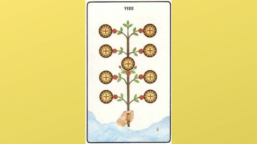Lord of Material Gain – 9 of Pentacles – Golden Dawn