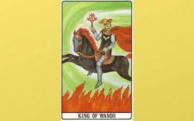 King of Wands – Golden Dawn