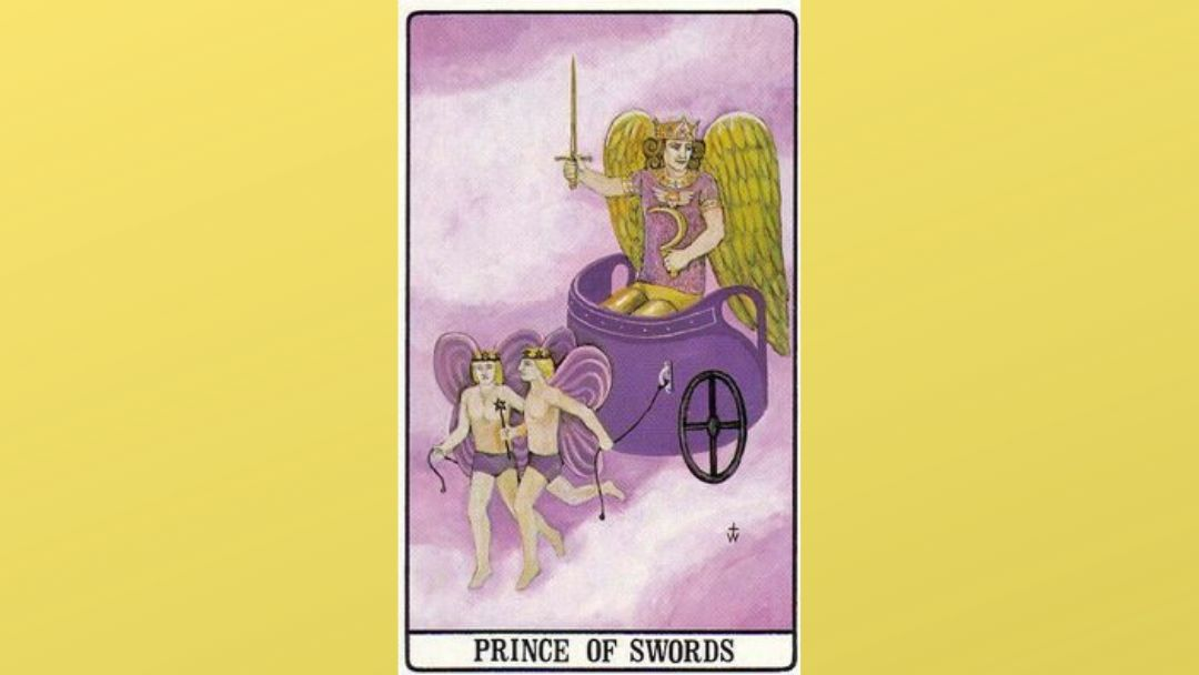 Prince of Swords – Golden Dawn
