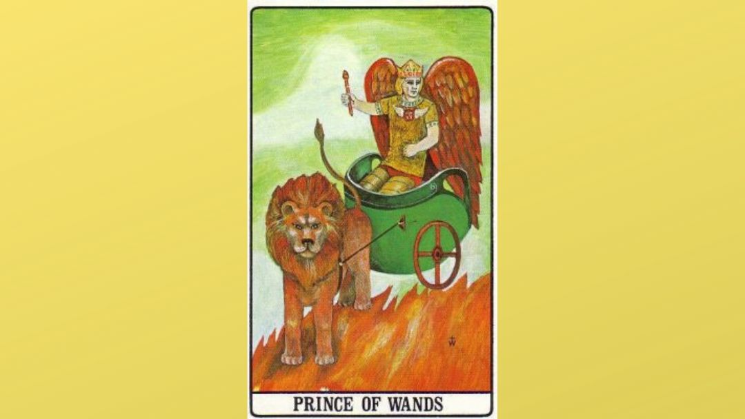 Prince of Wands – Golden Dawn