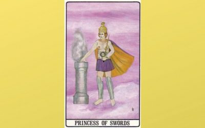 Princess of Swords – Golden Dawn