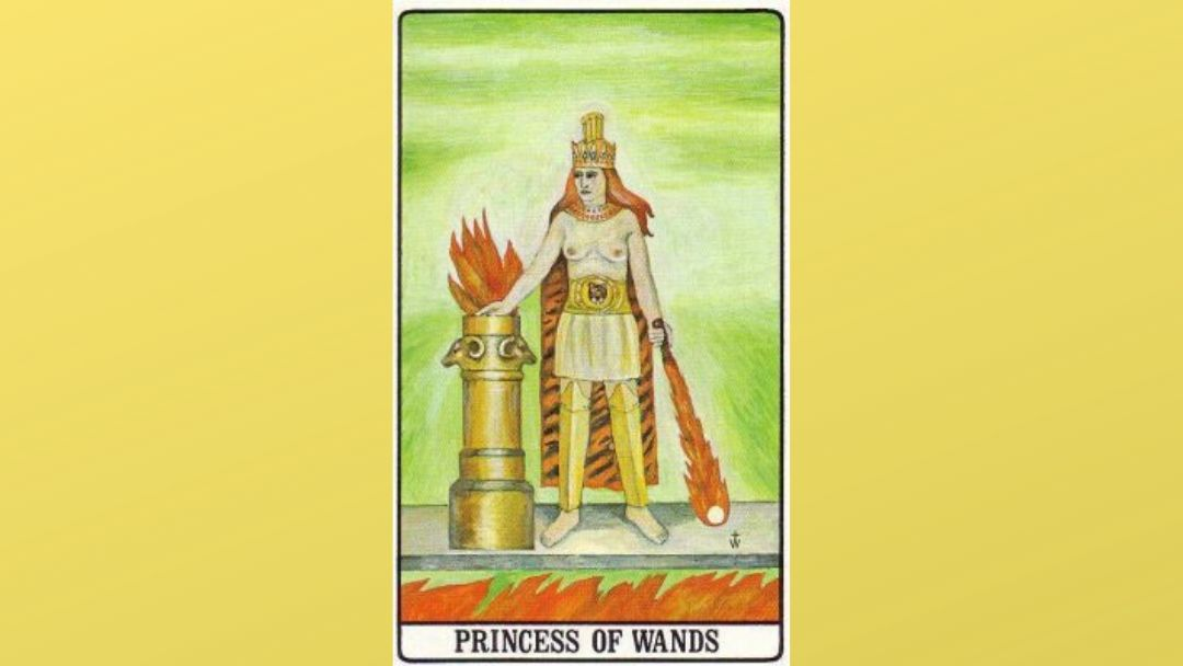 Princess of Wands - Golden Dawn Tarot
