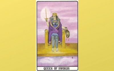 Queen of Swords – Golden Dawn
